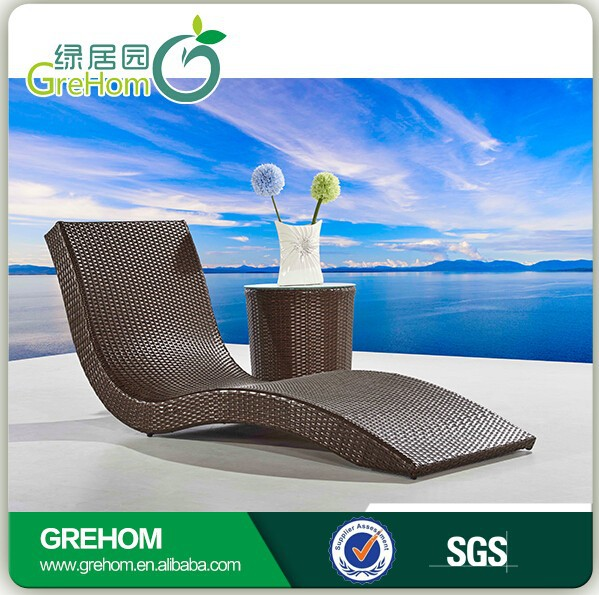 Hot sell hotel piscine swimming pool lounger chair