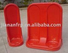Single and double type frp fiberglass fire extinguisher stand