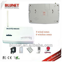 Best Voice two band economical GSM Home security wireless gsm alarm wireless