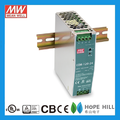 Original MEAN WELL 120W Single Output Industrial DIN RAIL NDR-120-24