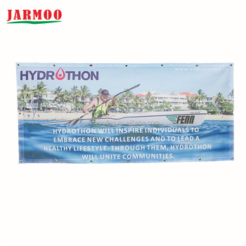banner printing /full color digital print pvc banner printing with eyelets