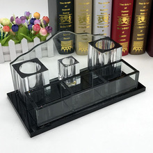 KTV high-grade microphone stand music crystal brush holder for Office