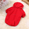 Winter Hot Selling Purity Dog Outerwear with Cap Pocket Wholesale Dog Clothes