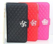 Diamond bling case for apple iphone 5 mobile housing;luxury sheep skin cover for iphone 5 noble phone case