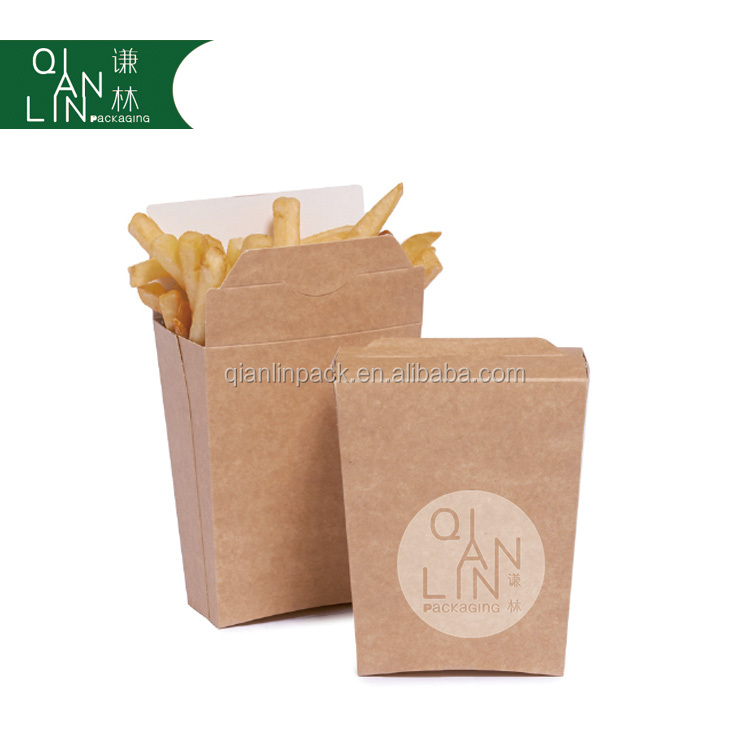 french fries and chips paper package cone or box