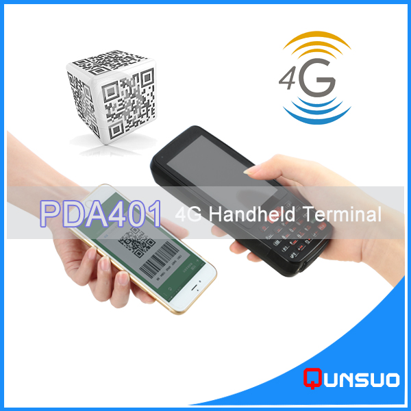 Highly Integrated Label Scanner PDA Support Wi-Fi/3G/4G with NFC RFID Reader for Logistc Use