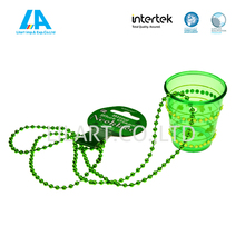 Event & Party Type Carnival Shot Glass Plastic cups Necklace for kids