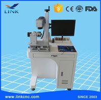 Free shipping keyword 30W optical fiber laser marking machine/laser marking machine for metal