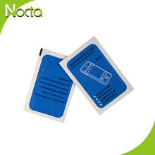 Hot sale high quality nocta branded clean cell phone screen wet wipe