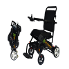 folding lithium battery power wheelchair