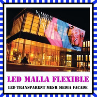 transparent led media facade, new model