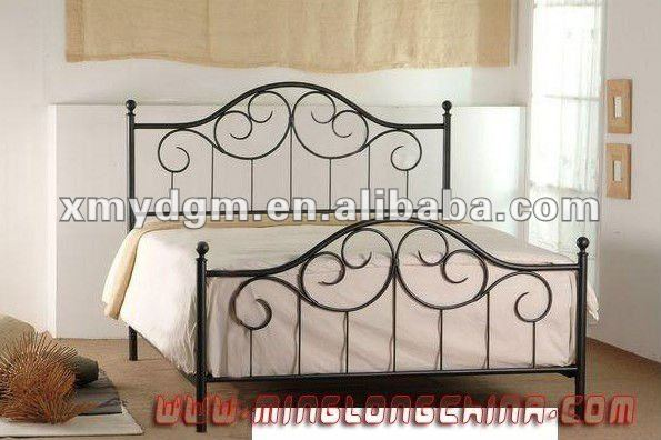 wholesale bedroom sets metal beds furniture(ML-026)