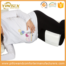 OEM Standard function durable cheap custom pillow inflatable memory foam rest support leg knee pillow for pregnancy sleeping