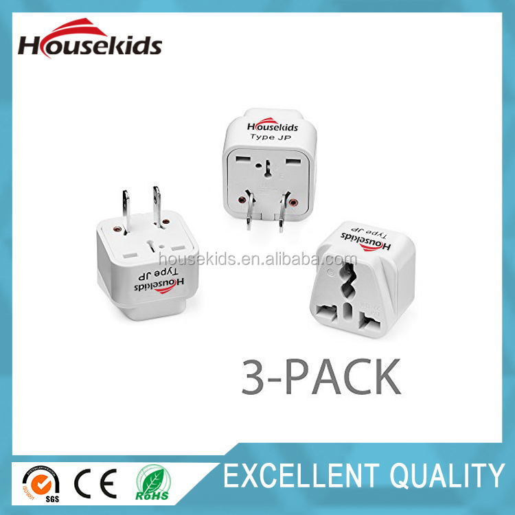 Universal UK/EU/ AU to US Adapter Travel Power Adapter ,PLUG ADAPTOR
