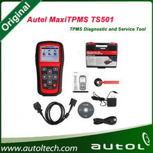 Best Price Original AUTEL MaxiTPMS TS501 With OBD2 Adapters TPMS Diagnostic & Service Tool Update Via Autel Website