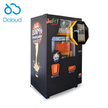 CSA SASO CE certified Fresh orange juicer automatic reverse vending machines