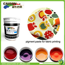 new products Eco friendly color for cotton voile fabric screen printing
