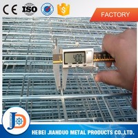 China factory welded wire mesh panel, rabbit cages used fencing