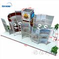 Detian Offer modular trade show stands ideas exhibition stands booth design and construction