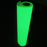 Glow in the dark vinyl/luminescent vinyl film/photoluminescent film