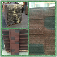 galvanized decrative CE certificate of China factory building material stone coated metal roof tile