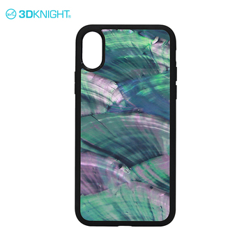 Natural Seashel TPU case for iphone X bumper case design