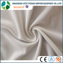 Breathable sportswear use 100% polyester bird eye mesh fabric for clothing
