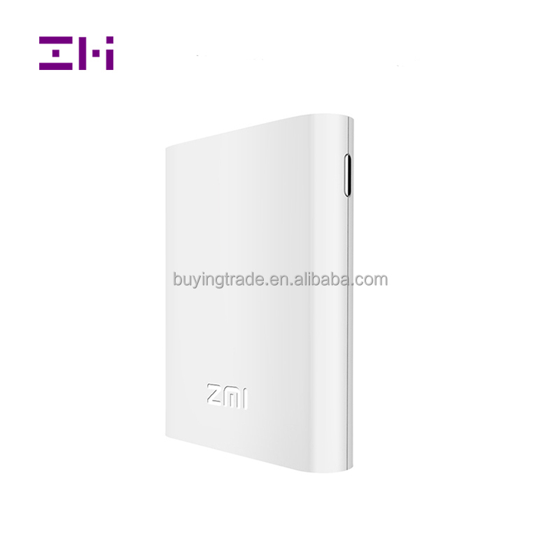 100% Original ZMI 4G Portable wifi router MF855 3G 4G lte mobile hotspot with 7800mAh battery power bank