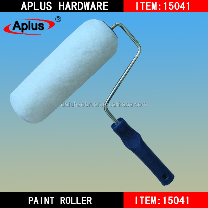 China wholesale plastic handle EU style Sheepskin paint roller