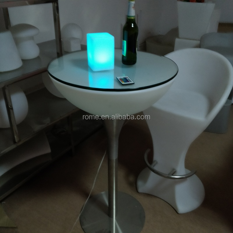 waterproof color change bar light mini led table top light