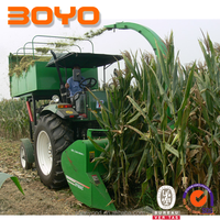 Special YTO tractor forage harvester for animal feeding
