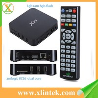 AML8726-MX dual core A9 android 4.2.2 kodi 14.2 Wifi DLNA tv box HD18D MX TV BOX smart tv box