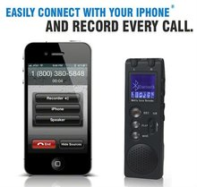 bluetooth digital voice recorder, voice activated recording, telephone recording