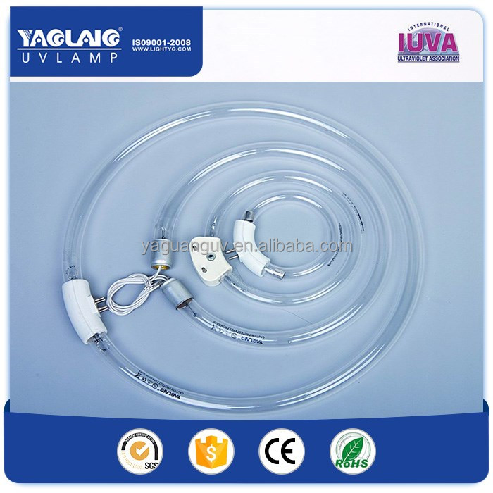 Circular uv lamps round uvc light for air purifier