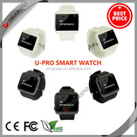 2014 hot sell manufacturer wholesale best price fashionable pedometer anti lost smart hand watch mobile phone price