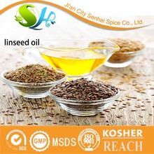 Bulk sale cold pressed industrial grade linseed oil/flax seed oil with cheap price