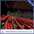Fashion printed custom customized high end auditorium cinema carpet