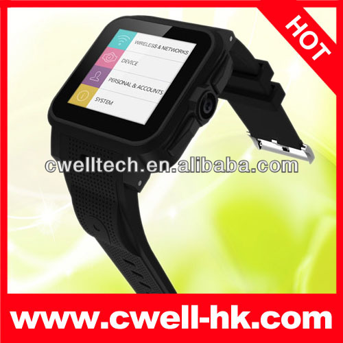SW316 Smart Watch Android 4.2 phone 1.54 Inch IPS Touch Screen 3.0MP FF Camera WIFI GPS