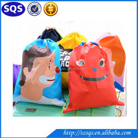 2016 wholesale high quality Cute Strong drawstring backpack bag for promotion