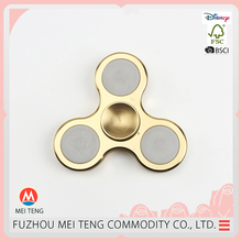 Best selling three lights aluminium alloy metal spinner