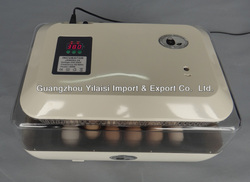 Good Quality High Hatching Rate 24 chicken egg Digital Full Automatic Mini Egg Incubator with CE Certificate