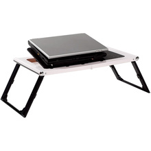 etable plastic folding laptop stand in bed