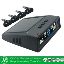 Solar Power tpms, hot selling Car solar charging Tire Pressure Monitoring System XY-TP406i