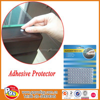 dia6 60pcs/REACH, PAHS, EN71-3, AZO etc.desk surface protector from getting hurt by glass/rubber bumper protector