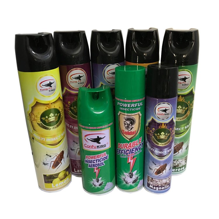 Household Stocked Aerosol Spray Products