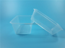PP disposable take away lunch box plastic