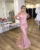 Elegant Sweetheart Cap Sleeve Appliqued Prom Party Gown Evening Dresses 2019