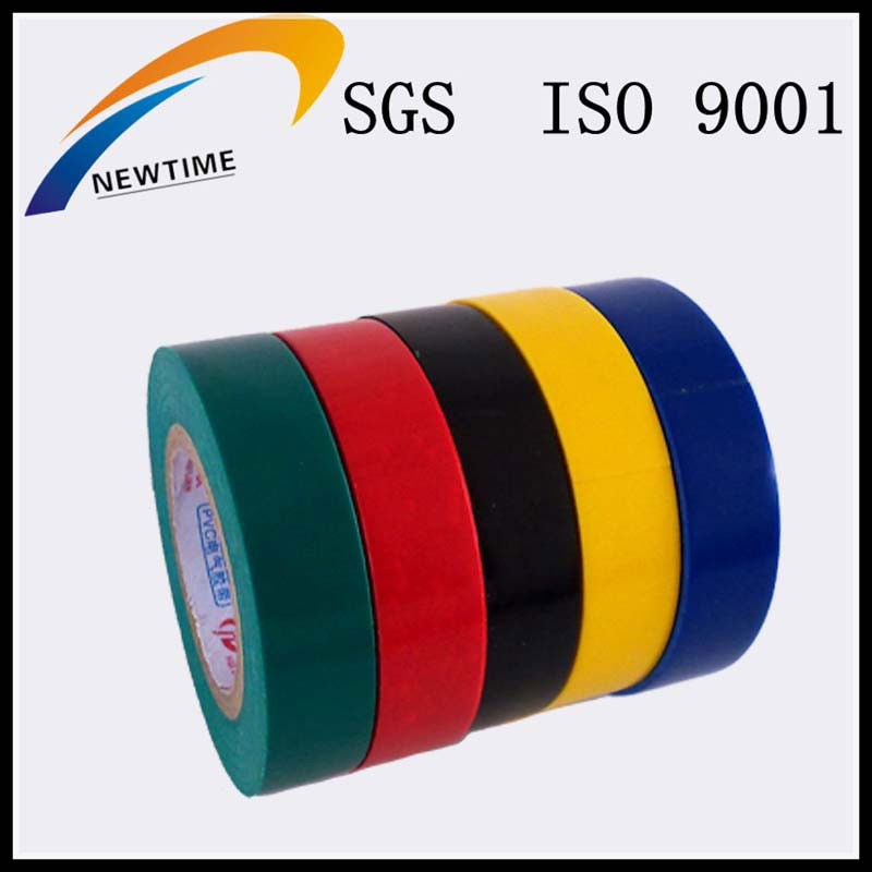 Colors electrical insulation PVC tape made in china from alibaba