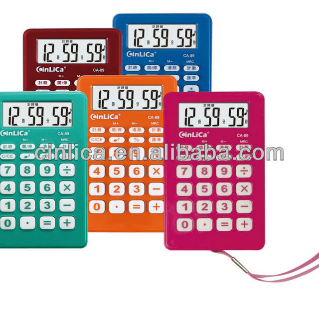 souvenir stationery pocket mini calculator