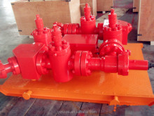 API 16C hydraulic/manual high pressure kill manifold Choke Manifold